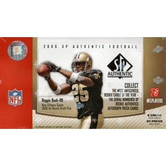 2006 Upper Deck SP Authentic Football Hobby Box