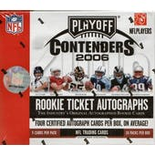 2006 Playoff Contenders Football Hobby Box (Reed Buy)