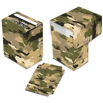 Ultra Pro Camouflage Full View Deck Box - Regular Price $2.99 !!!