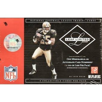 2006 Leaf Limited Football Hobby Box