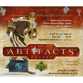 2006/07 Upper Deck Artifacts Hockey Hobby Box