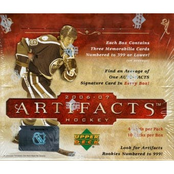 2006/07 Upper Deck Artifacts Hockey Hobby Box