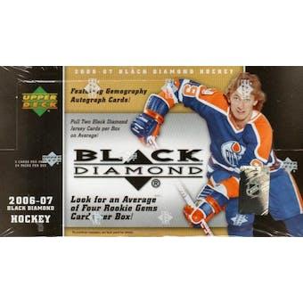 2006/07 Upper Deck Black Diamond Hockey Hobby Box
