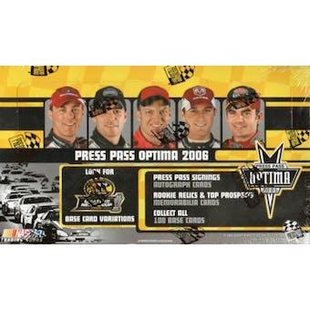 2006 Press Pass Optima Racing Hobby Box
