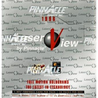 1996 Pinnacle Laserview Football Hobby Box
