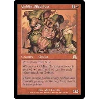 Magic the Gathering Onslaught Single Goblin Piledriver - NEAR MINT (NM)