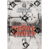 2015/16 In The Game The Final Vault Hockey Hobby Box