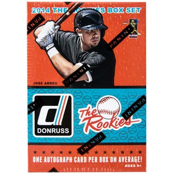 2014 Panini Donruss The Rookies Baseball Factory Set Box