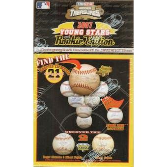2007 TriStar Hidden Treasures Young Stars & Rookie Ed. Auto Baseball Hobby Box