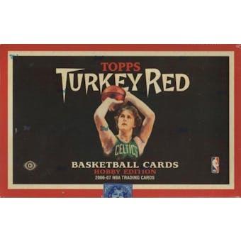 2006/07 Topps Turkey Red Basketball Hobby Box