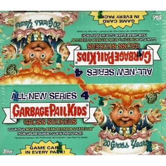 Garbage Pail Kids Series 4 Stickers 36 Pack Box (2005 Topps)