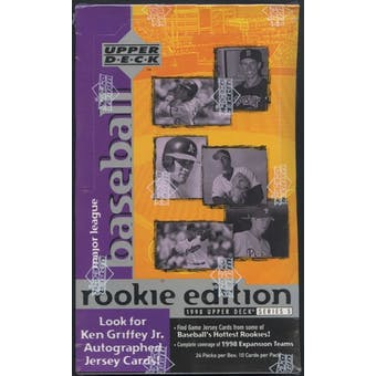 1998 Upper Deck Series 3 Rookie Edition Baseball Hobby Box