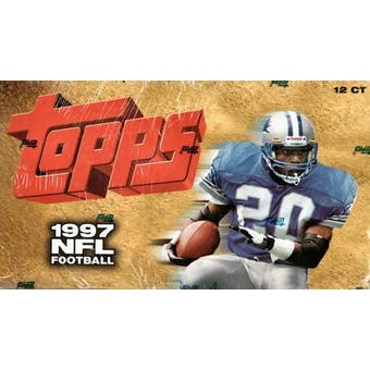 1997 Topps Football Jumbo Box