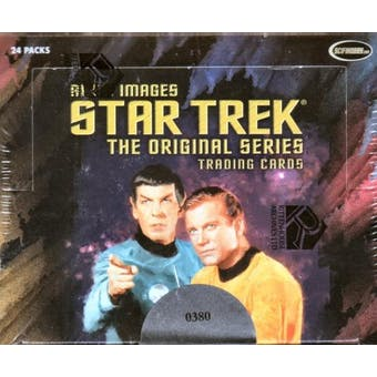 Star Trek The Original Series Art & Images Trading Cards Box (Rittenhouse 2005)