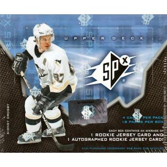 2006/07 Upper Deck SPx Hockey Hobby Box