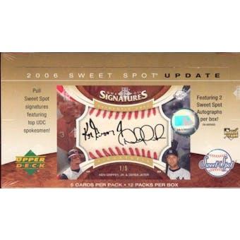 2006 Upper Deck Sweet Spot Update Baseball Hobby Box