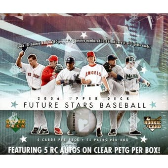 2006 Upper Deck Future Stars Baseball Hobby Box