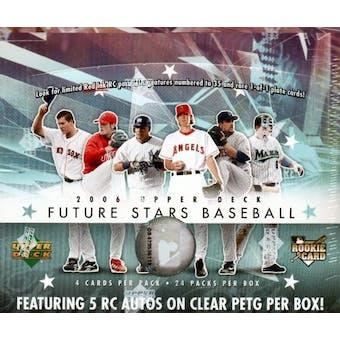 2006 Upper Deck Future Stars Baseball Hobby Box