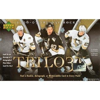 2006/07 Upper Deck Trilogy Hockey Hobby Box
