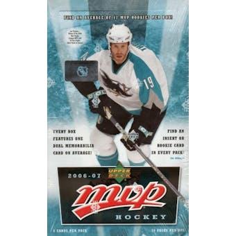 2006/07 Upper Deck MVP Hockey Hobby Box