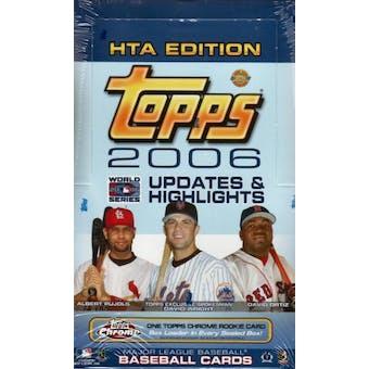2006 Topps Updates & Highlights Baseball Jumbo Box