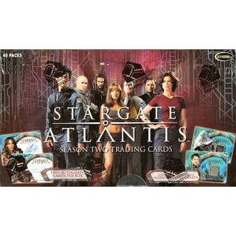 Stargate Atlantis Season 2 Trading Cards Box (Rittenhouse 2006)