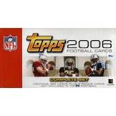 2006 Topps Football Factory Set (Box)
