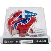 Ruben Brown Autographed Buffalo Bills Football Mini Helmet
