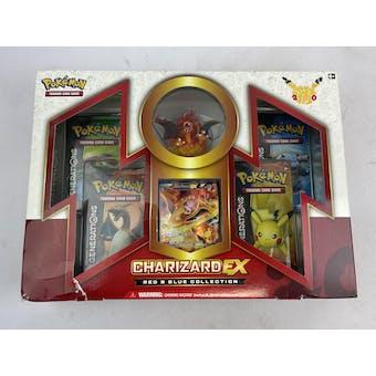 Pokemon Red & Blue Collection Box - Charizard EX