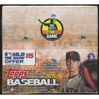 2015 Topps Series 2 Baseball 24-Pack Box - Kris Bryant RC's!
