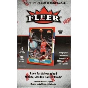 2006/07 Fleer Basketball Hobby Box