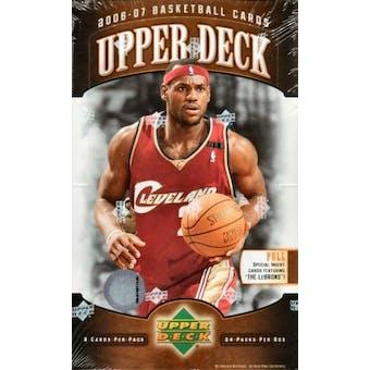 2006/07 Upper Deck Basketball Hobby Box