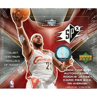 2006/07 Upper Deck SPx Basketball Hobby Box