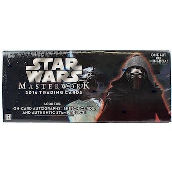 Star Wars Masterwork Hobby Box (Topps 2016)