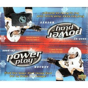 2006/07 Upper Deck Power Play Hockey Box