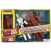 Marvel Deadpool 8 Inch Mego Style Retro Action Figure Set