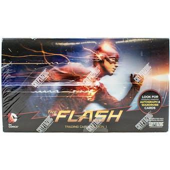 The Flash Season 1 Trading Cards Box (Cryptozoic 2016)