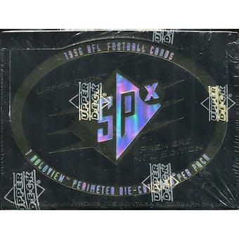 1996 Upper Deck SPx Football Hobby Box