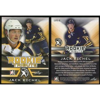 2015/16 Leaf Toronto Spring Expo Rookie Tribute #EXPO-JE Jack Eichel