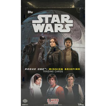 Star Wars Rogue One: Mission Briefing Hobby Box (Topps 2016)