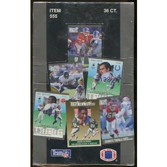 1991 Fleer Ultra Football Series 2 Wax Box