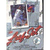 1990 Leaf Series 2 Baseball Wax Box (Reed Buy)