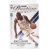 2014/15 Panini Prestige Basketball Mystery Rookie Rack Pack (Box)