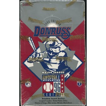 1996 Donruss Series 1 Baseball Retail Box
