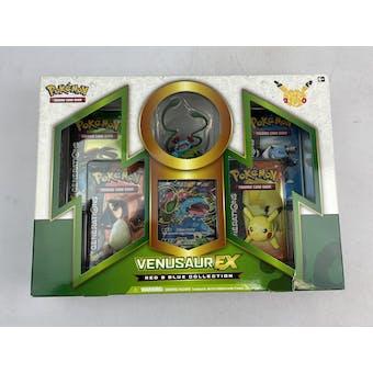Pokemon Red & Blue Collection Box - Venusaur EX