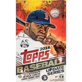2016 Topps Update Baseball Hobby Box