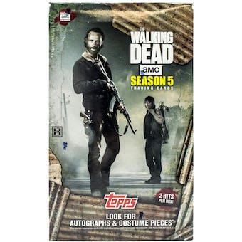 The Walking Dead: Season 5 Hobby Box (Topps 2016)