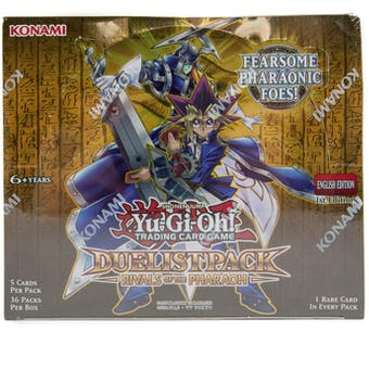 Yu-Gi-Oh Duelist Pack Rivals of the Pharaoh 1st Edition Booster Box