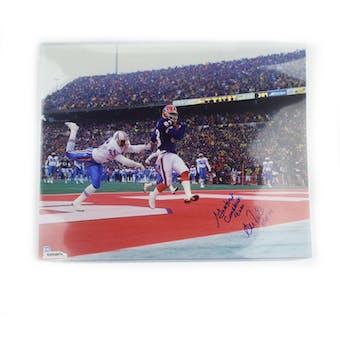 Andre Reed Autographed Buffalo Bills 16x20 Photo Greatest Comeback