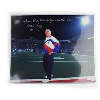 Marv Levy Autographed Buffalo Bills 16x20 Where Else Inscription